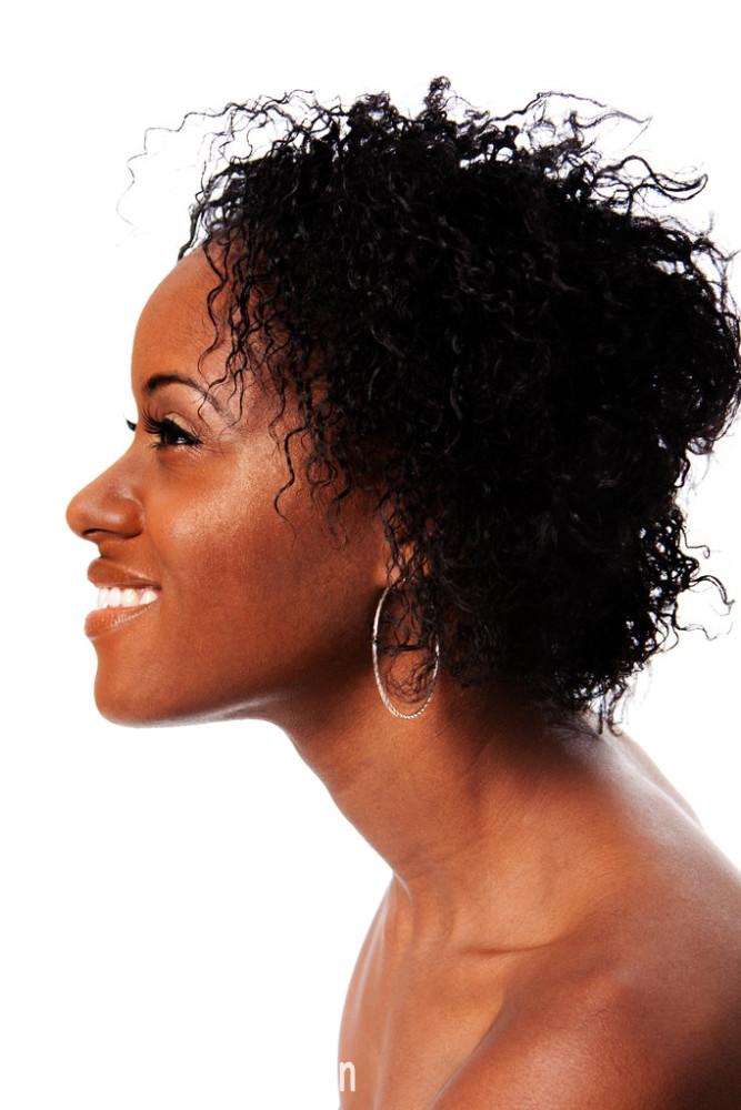 白色,局部,侧面像,出示,非洲人,非洲式发型,孤独,黑色,卷发,快乐图片