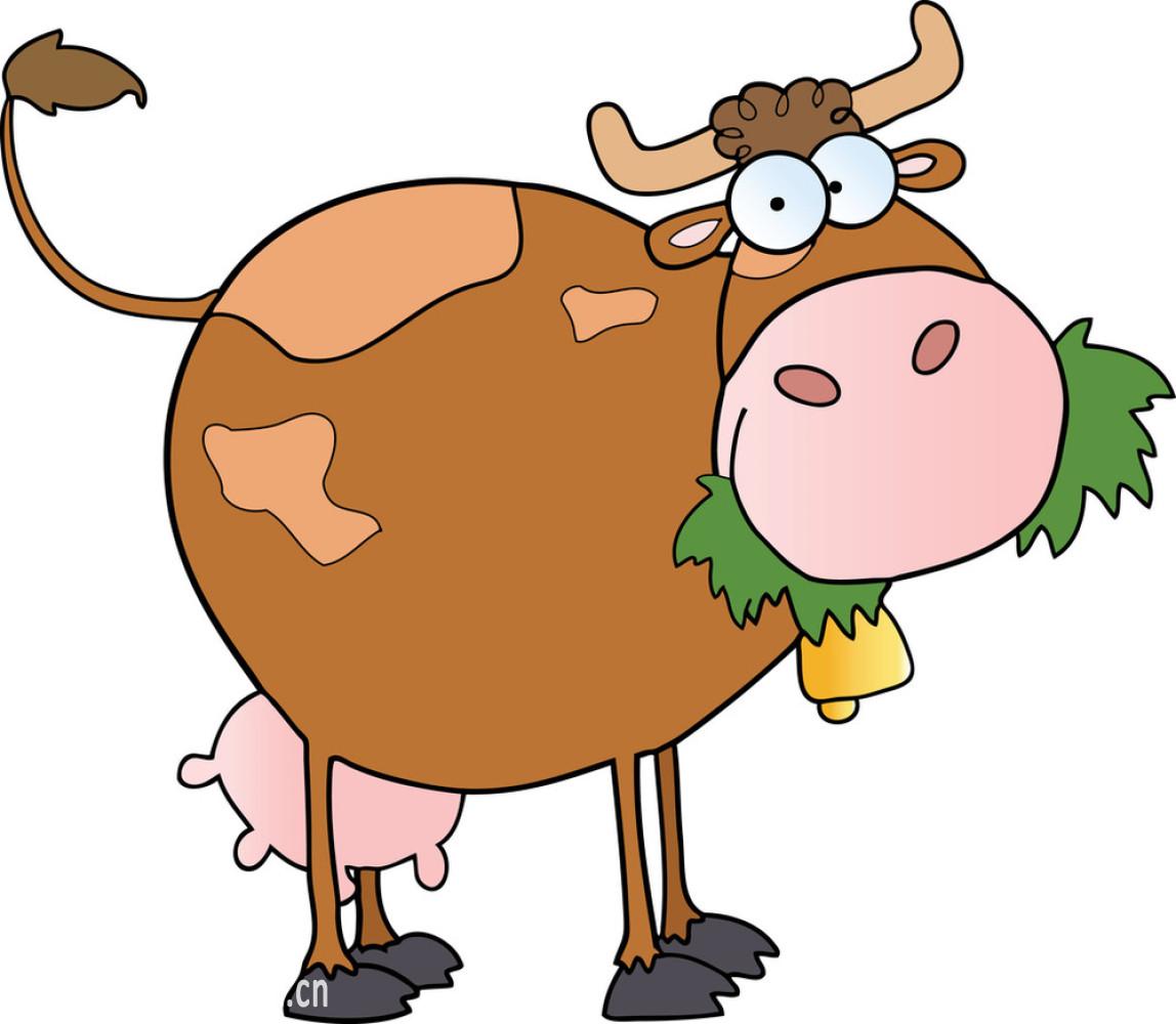 斑点的,草,动物,褐色,户外,绘画插图,吉祥物,家庭生活,卡通,绿色,母牛图片