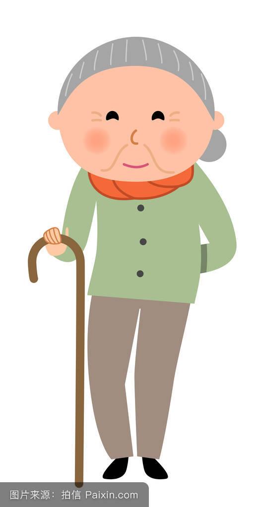 可爱的祖母失速拥抱夫人明亮的第二人生亲戚乐于助人的成人