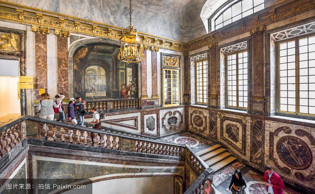 内部,旅行,宫殿,楼梯,凡尔赛,观光,旅游,法国,参观图片