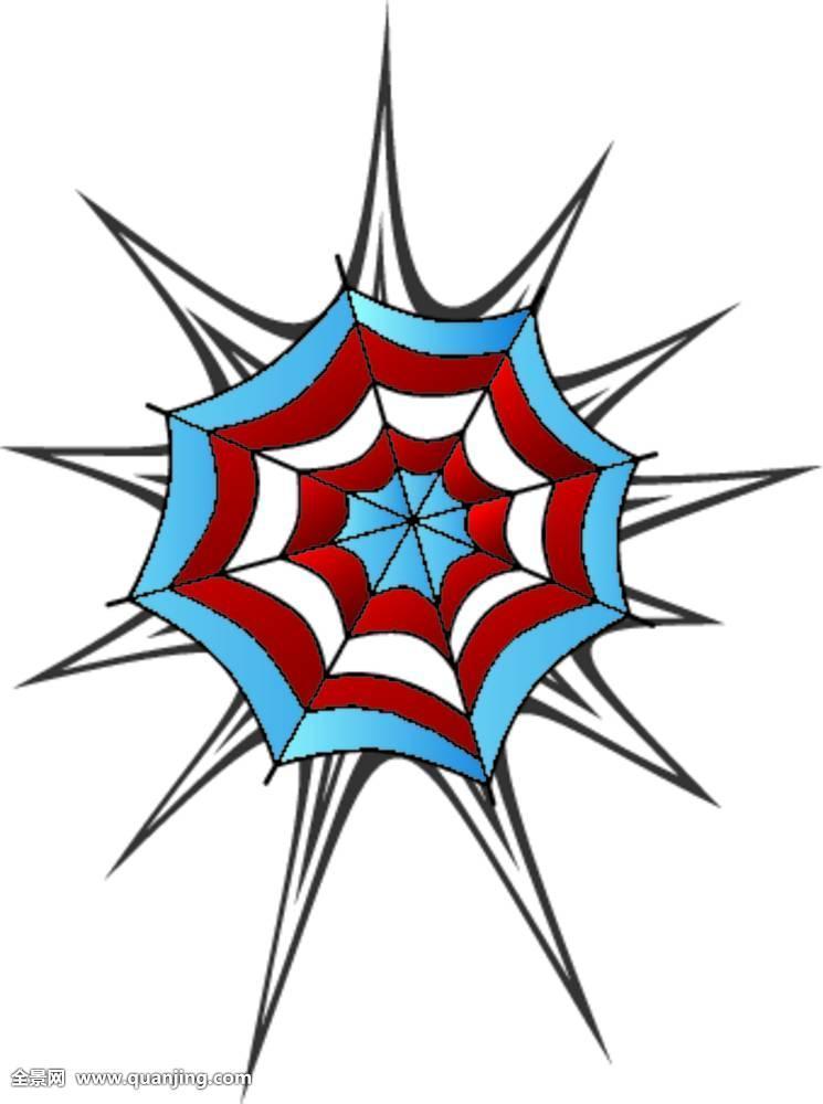蜘蛛网纹身图片 图案分享展示图片