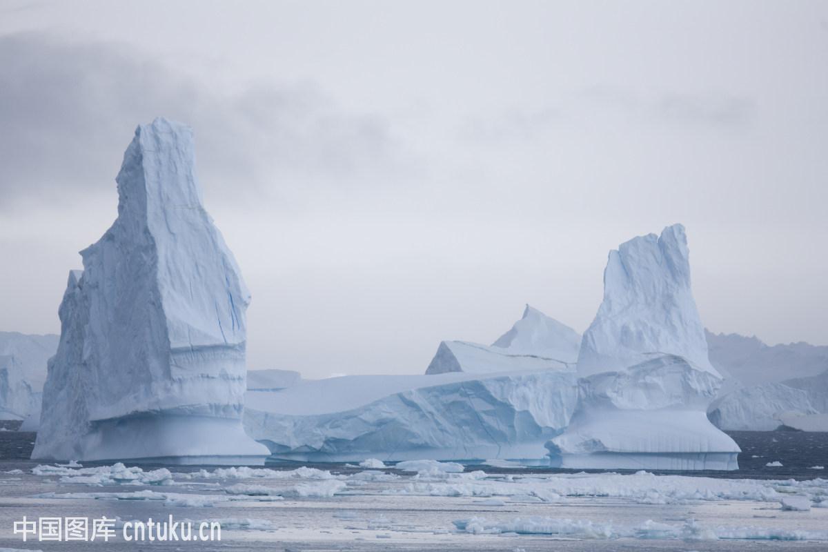 南极冰川图片