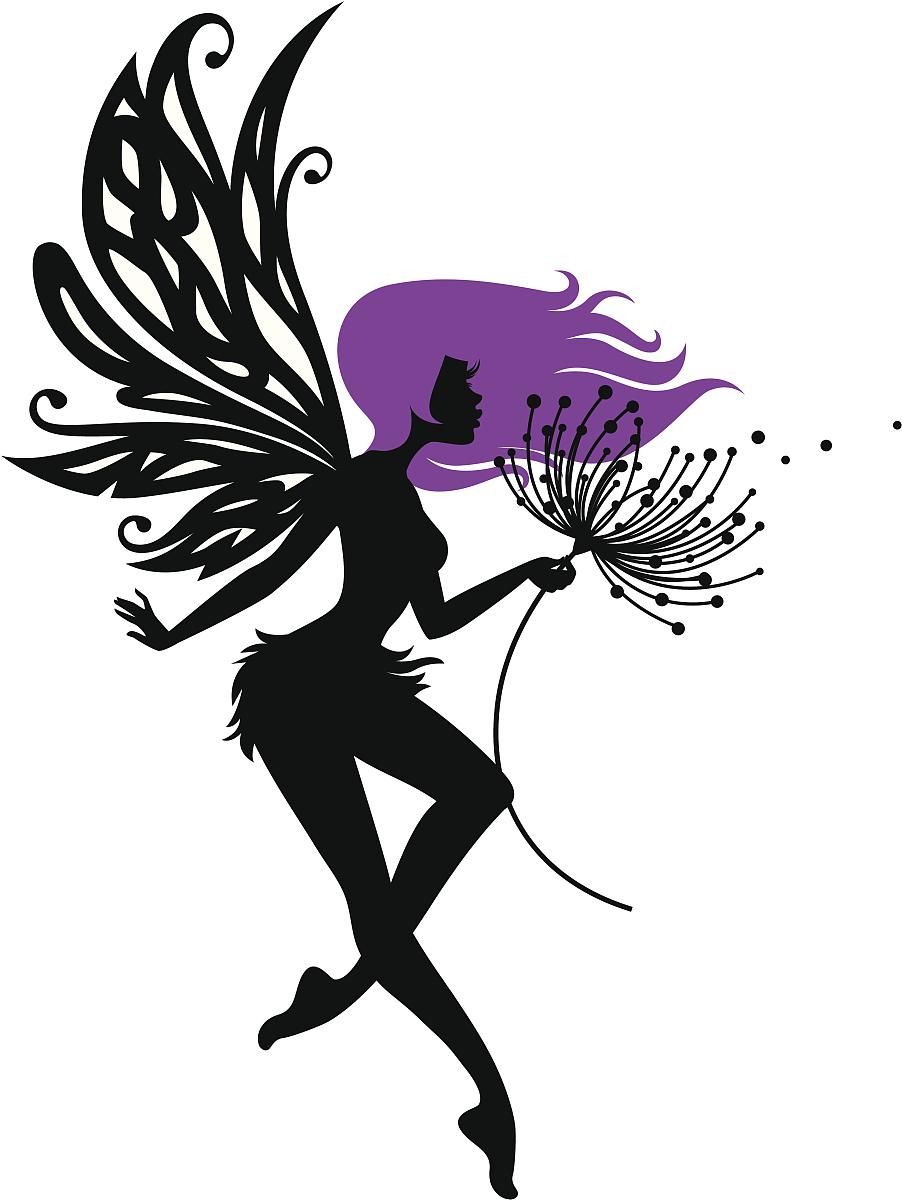 一朵花两片叶纹身图分享展示图片
