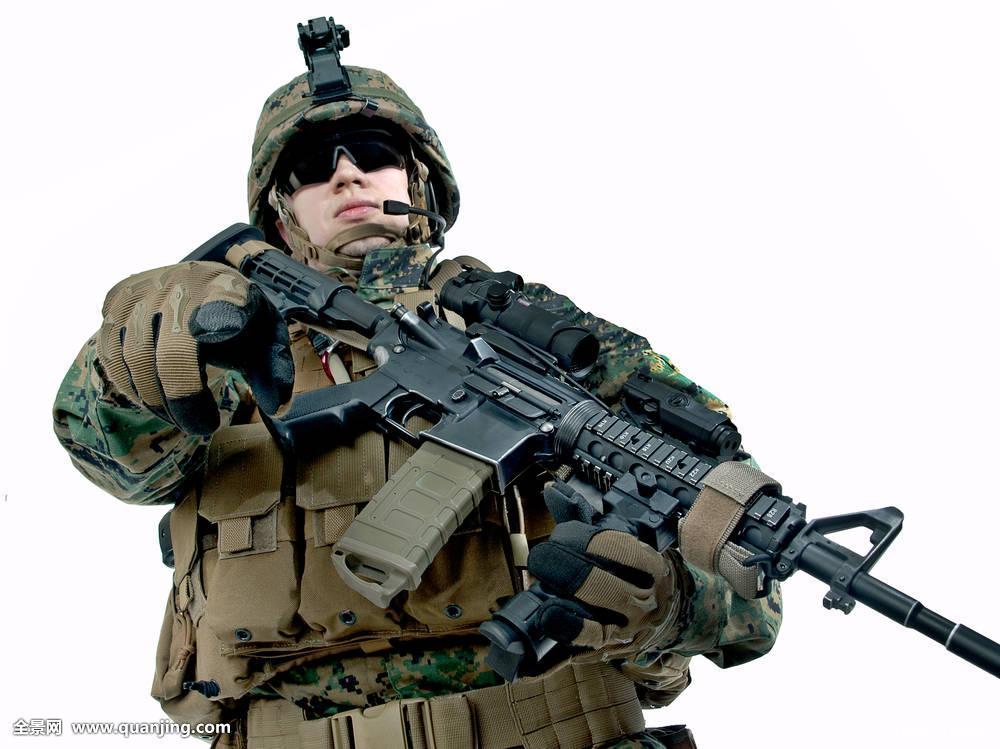 军_军人,美洲,海军陆战队,军队,武装,特别,制服,突击队员,北约,突击队