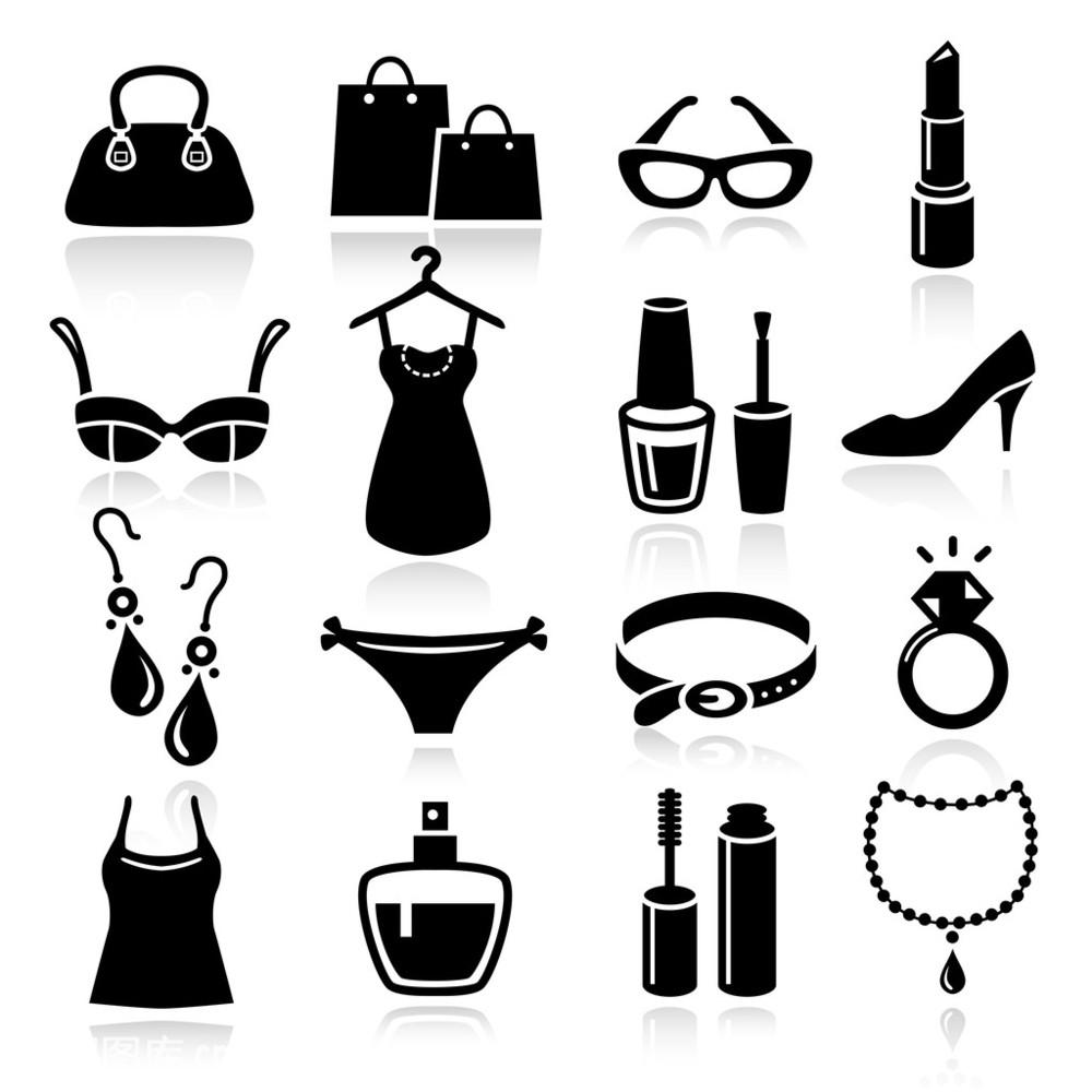 包,标志,唇膏,钉子,短灯笼裤,购物,化妆,化妆用品,睫毛膏,戒指,内衣图片