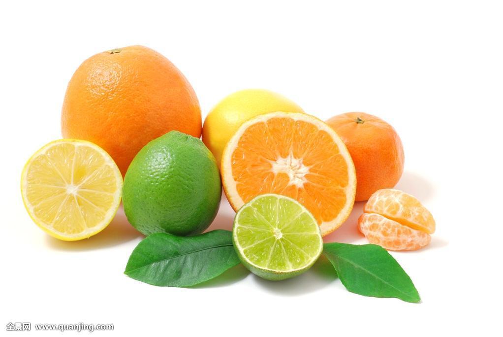 果实,水果,橘子,柠檬,不同,柑橘,柚子图片