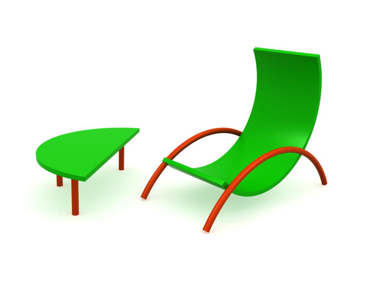 椅子图形创意聚集图片