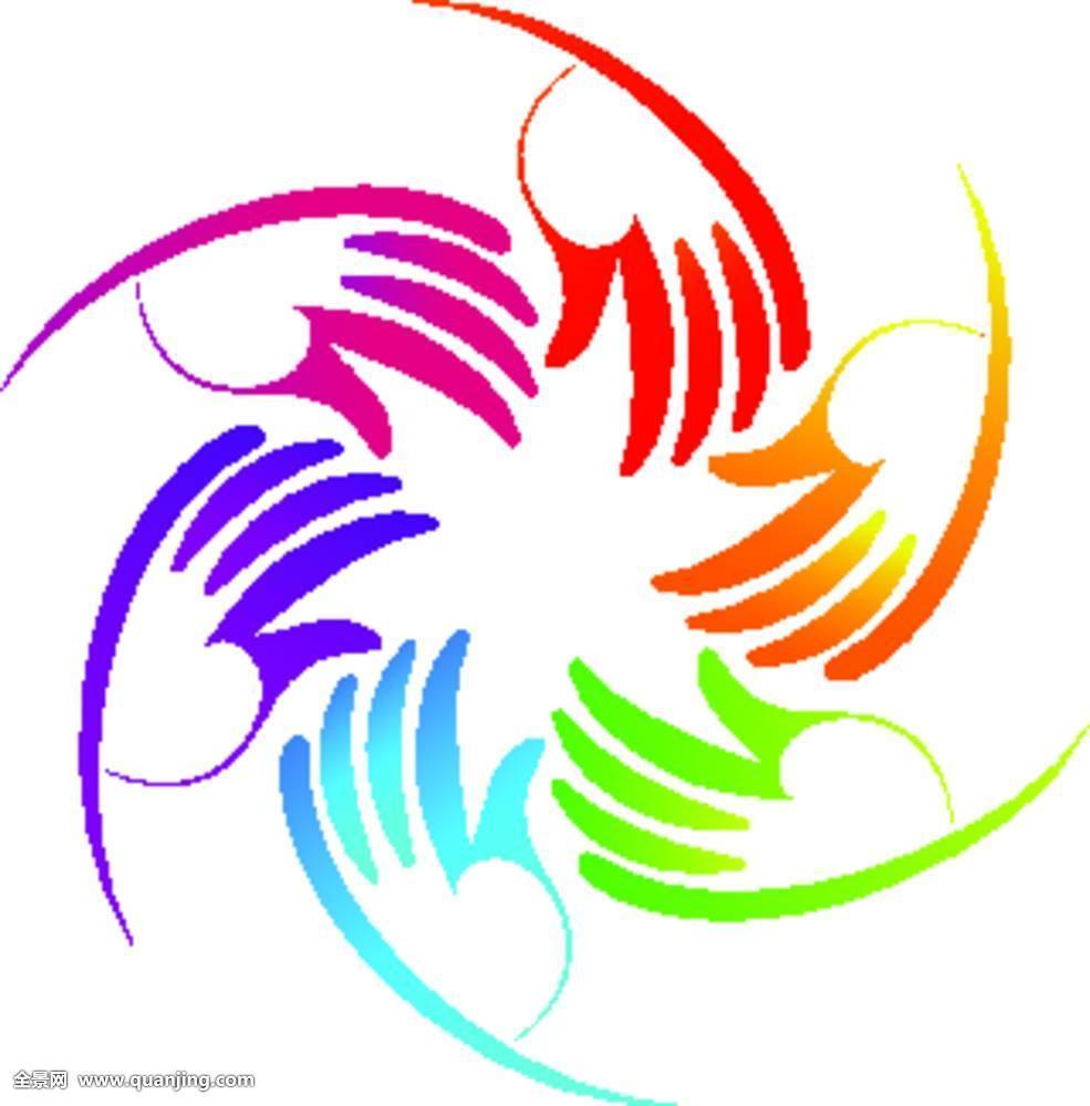 彩色,团队,标识图片