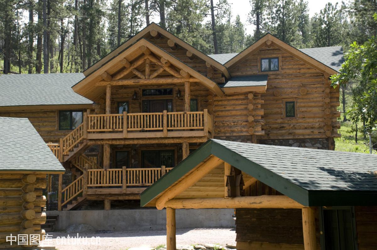 楼顶小木屋 设计图