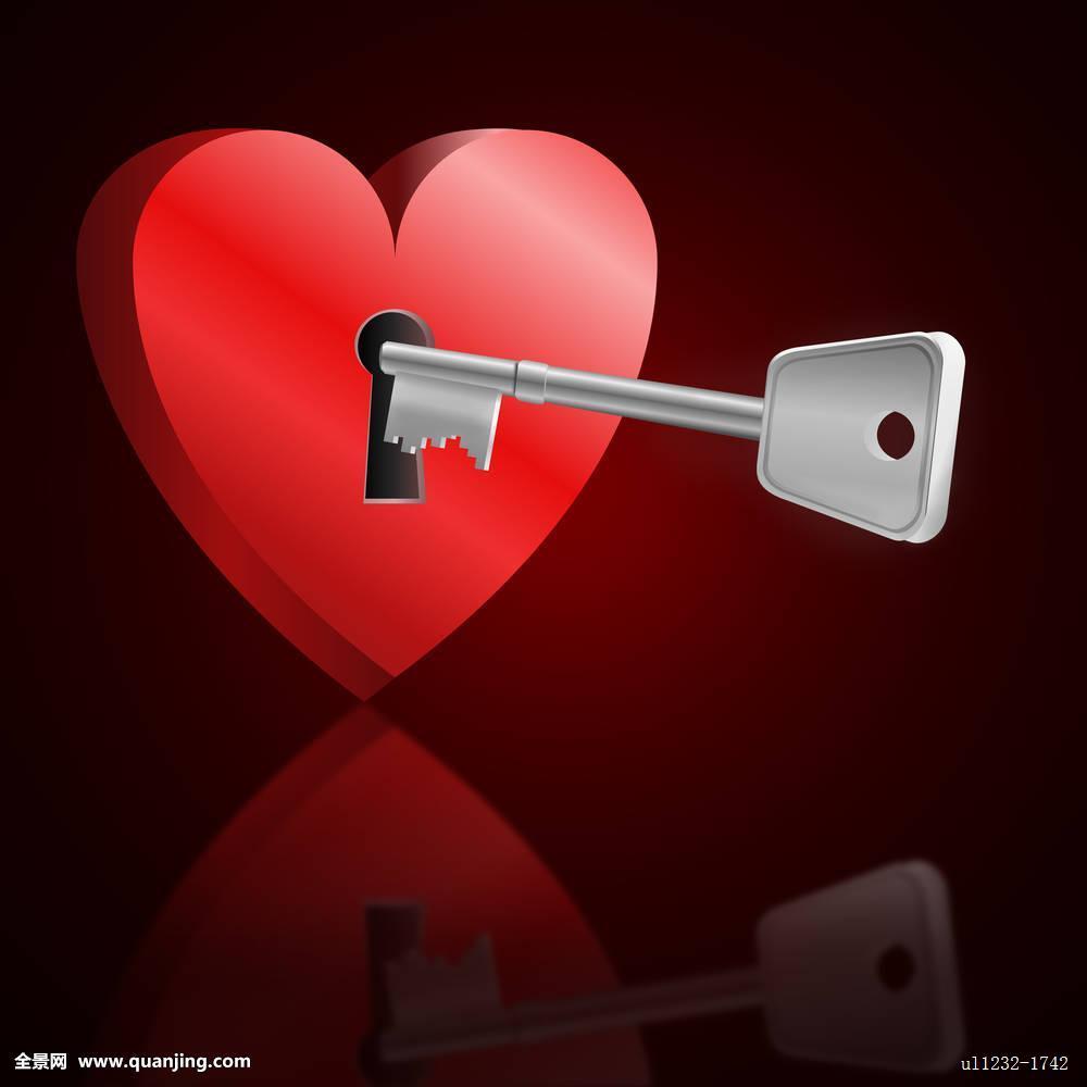 开起了���,y�9l#�%�kd_钥匙,开启,心形