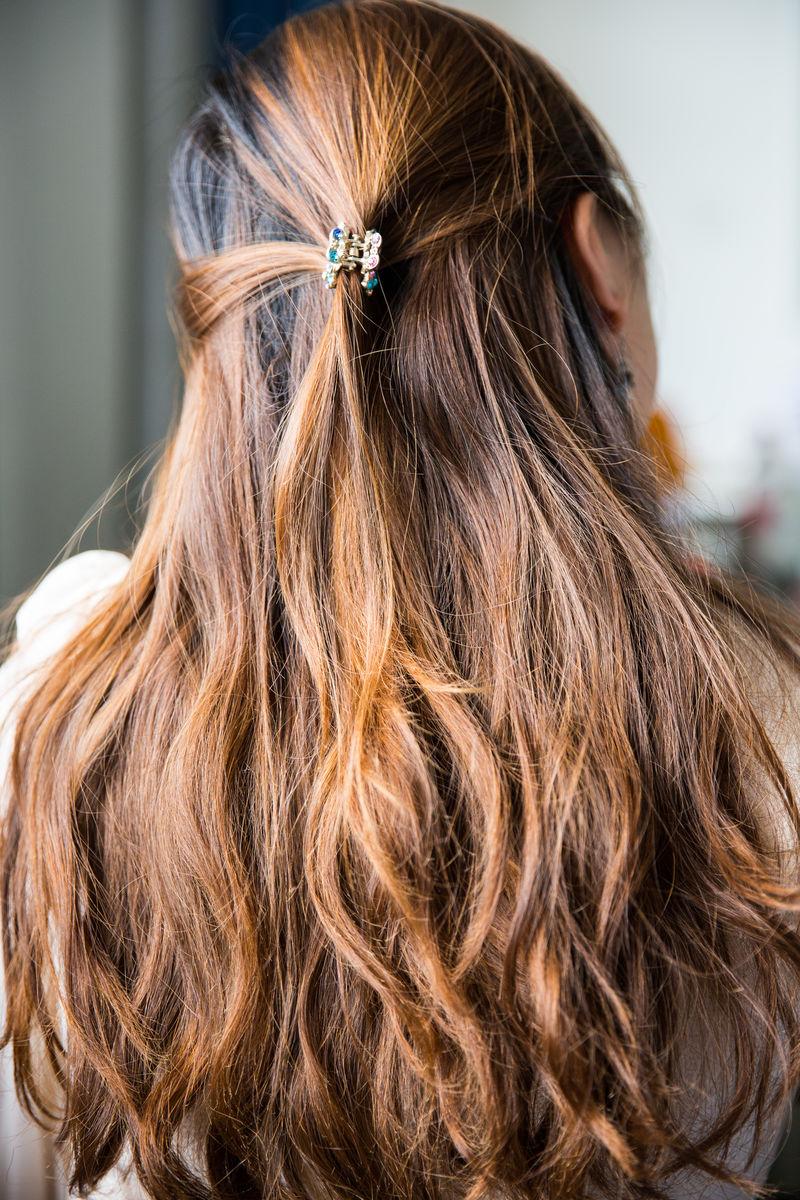 长头发图片
