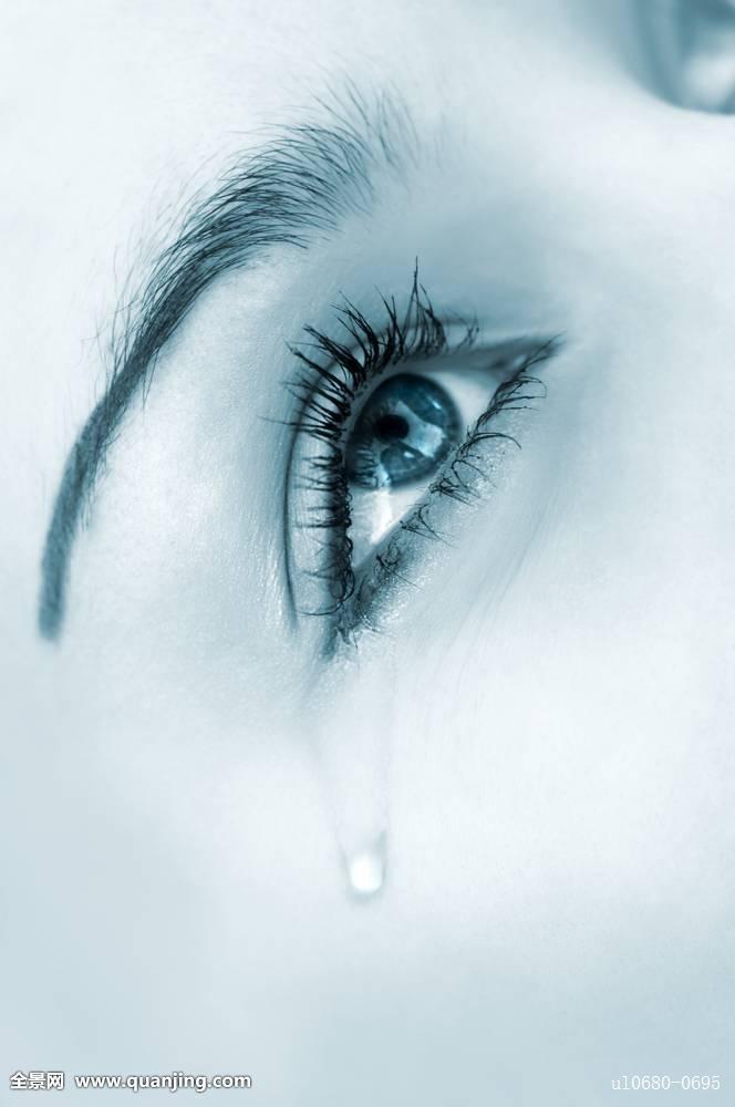 一只 流泪的眼睛手绘 画法分享展示