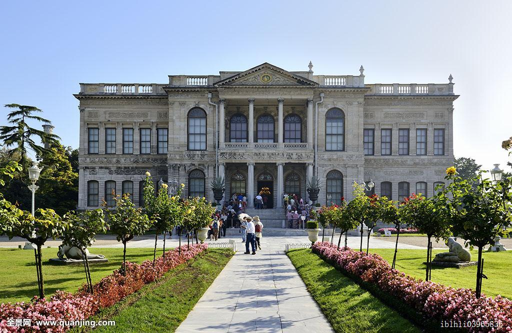 朵尔玛巴切皇宫,宫殿,伊斯坦布尔,欧洲,省,土耳其,亚洲图片