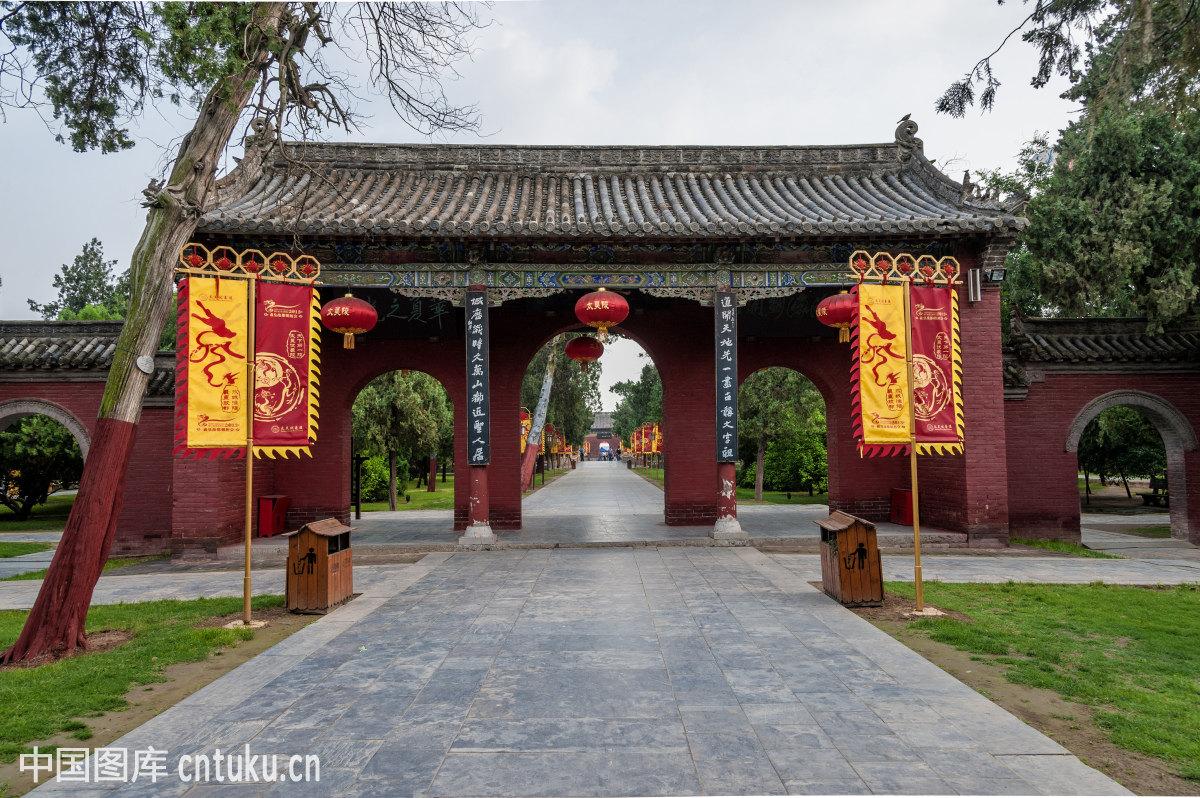 自然风景,皇陵,旅游景点,园林,中式建筑,古建筑,园林,太昊陵建筑群图片