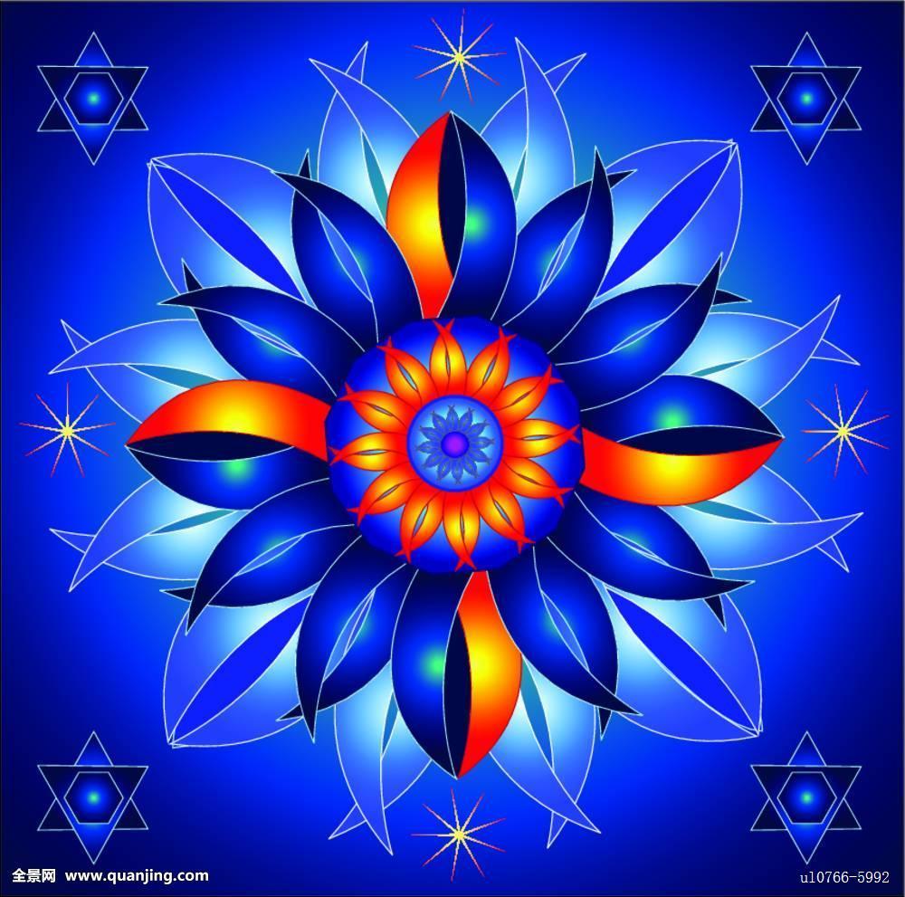 抽象,艺术,亚洲,背景,蓝色,佛,佛教,基督教,圆,彩色,装潢,装饰,设计图片