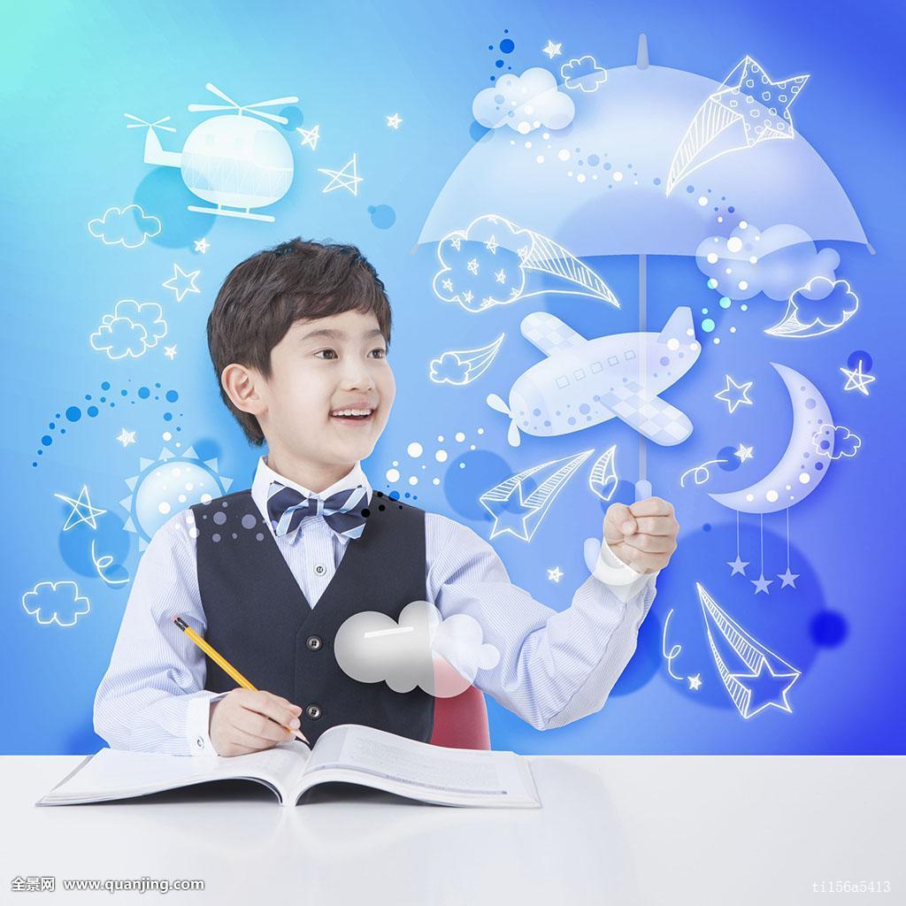 飞机的星形�yb�9�._教育,学习,书本,铅笔,伞,直升飞机,运输,交通,空运,飞机,云,星形,月亮