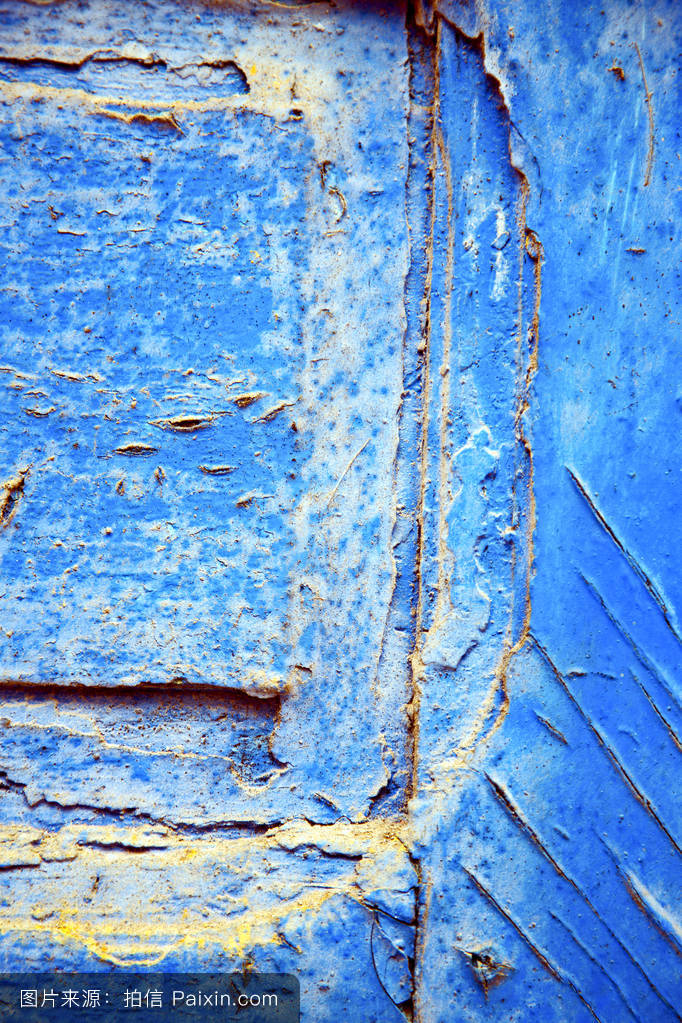 着色的孔金属背景指甲钢宫殿金交叉盘子模糊旅游门安全