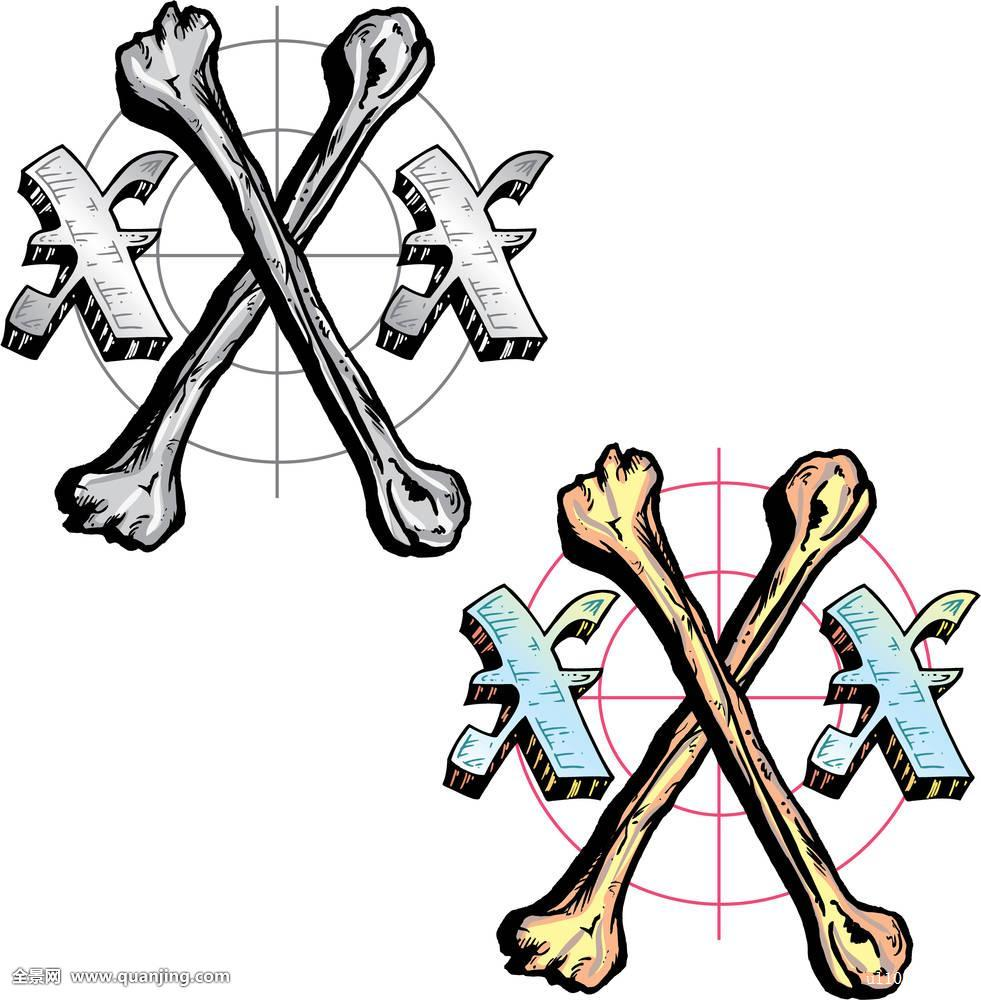 纹身,风格,字母x,象征图片