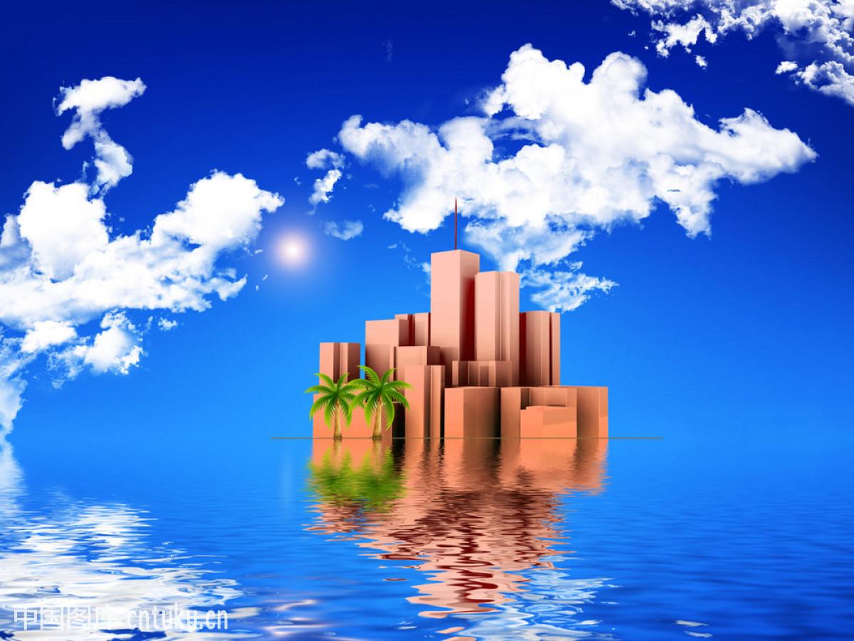 城市岛屿3美丽布局图图片
