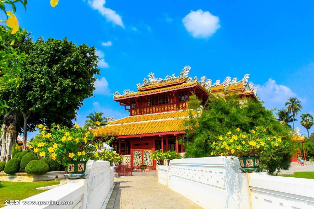 中式,宫殿,挽巴茵夏宫图片
