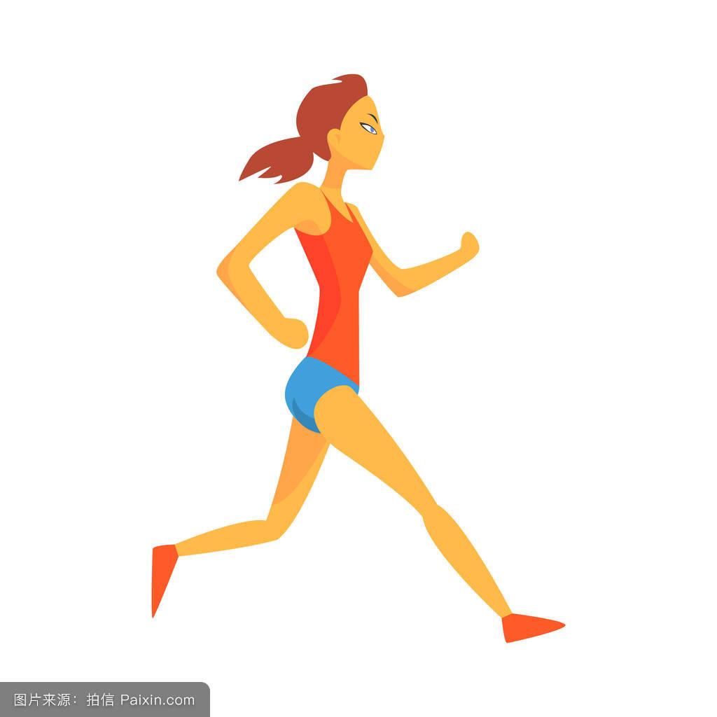 女人,竞争,慢跑,专业的,好的,游戏,姿势,跑步者,竞技,身体的,奥运会图片