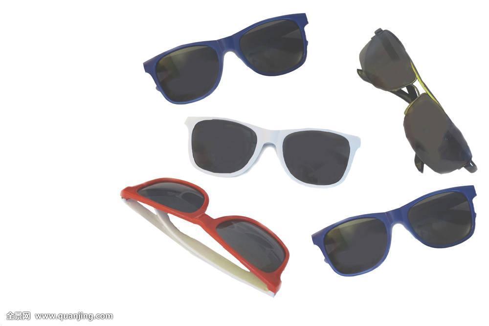 太阳,眼镜,墨镜,隔绝,黑色,一个,物体,复古,暗色,时尚,产品,设计,配饰图片
