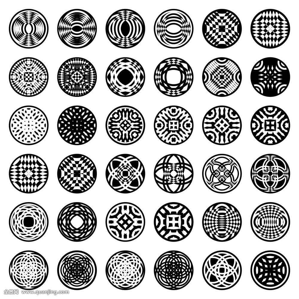 图案,圆,设计,纹身,玫瑰形饰物,标识,几何,图形,旋转,装饰,圆形,形状图片