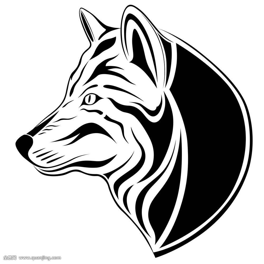 狼,纹身图片