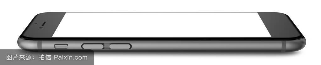 手机���y�`9g*9g,9�^�_black smartphones with blank screen, isolated on