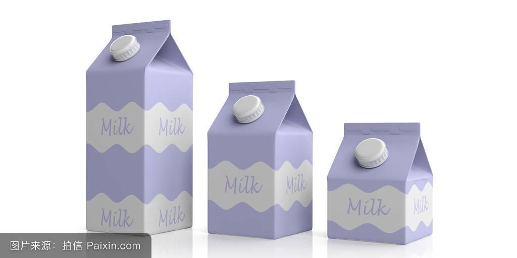牛奶,分离,名称,不,白色,喝,包装,杂项,致使,3d,商品,三,帽子,设计图片