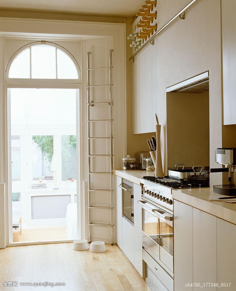 一体式烤炉,厨房,彩色图片
