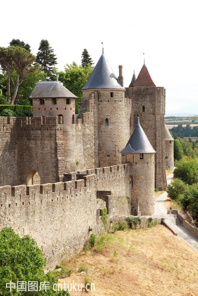卡尔卡松古城堡的图片
