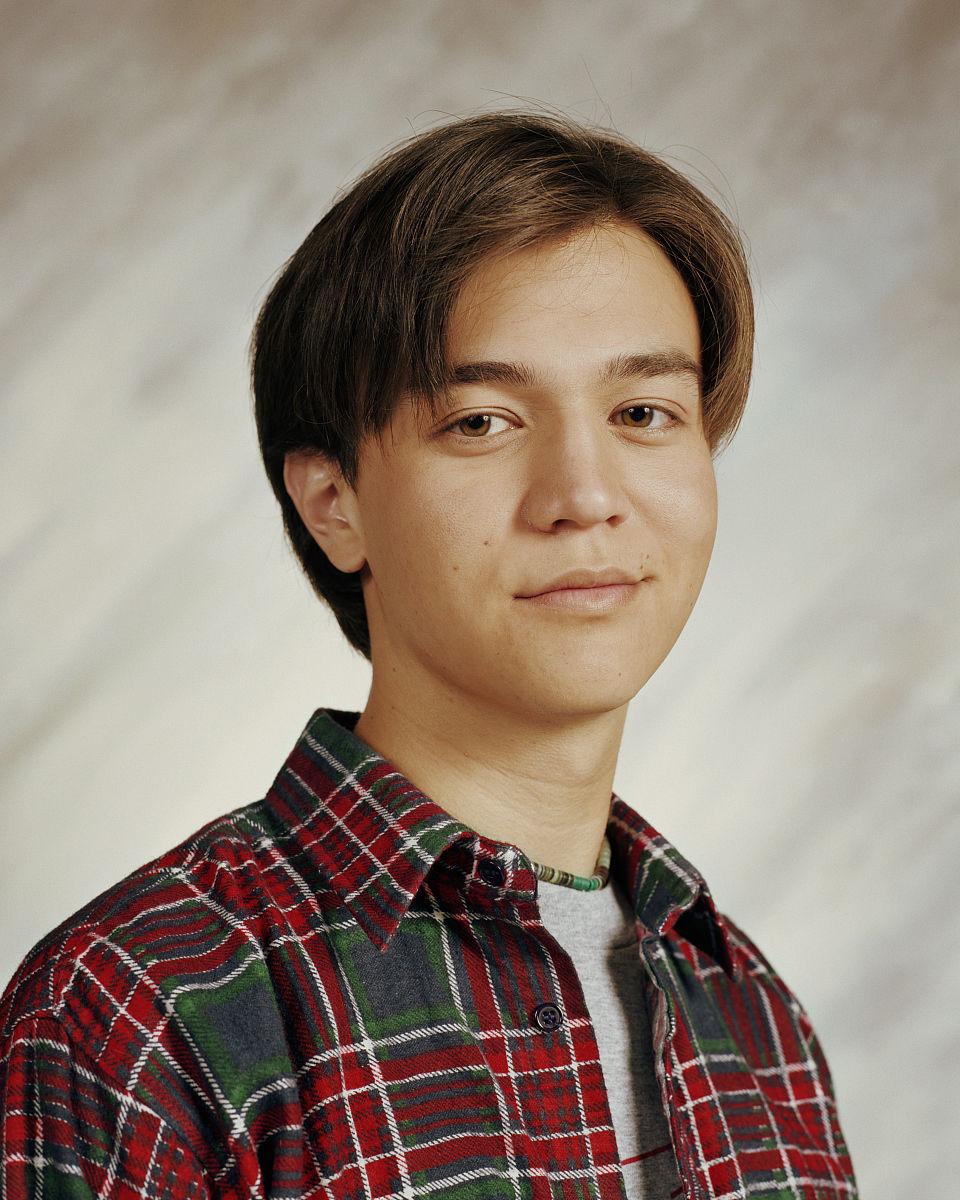男人复古中分中长发发型图片图片