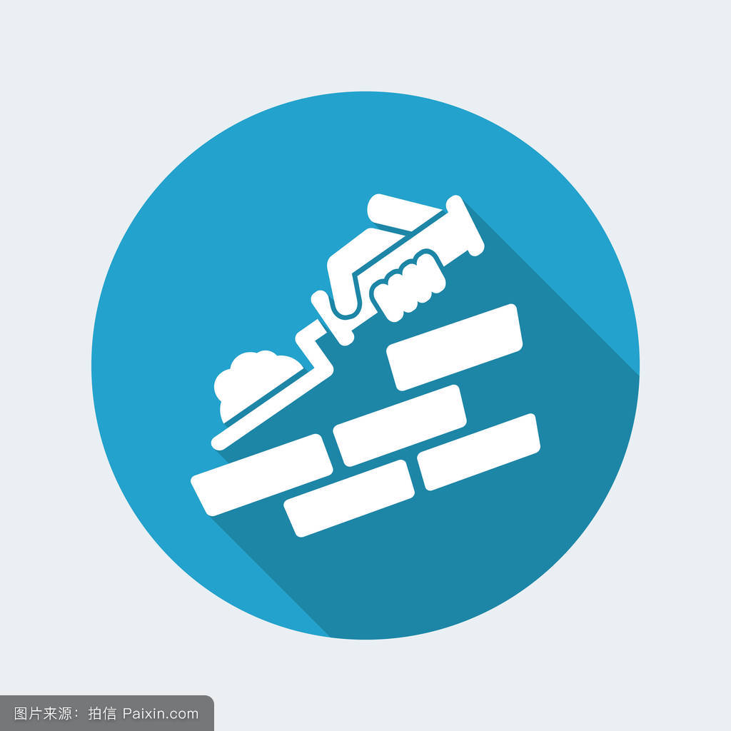学�y.�9l>[�~K�>K�_抹灰,铲,符号,专业的,材料,概念,矢量,建筑学,房子,行业,抹子,建筑