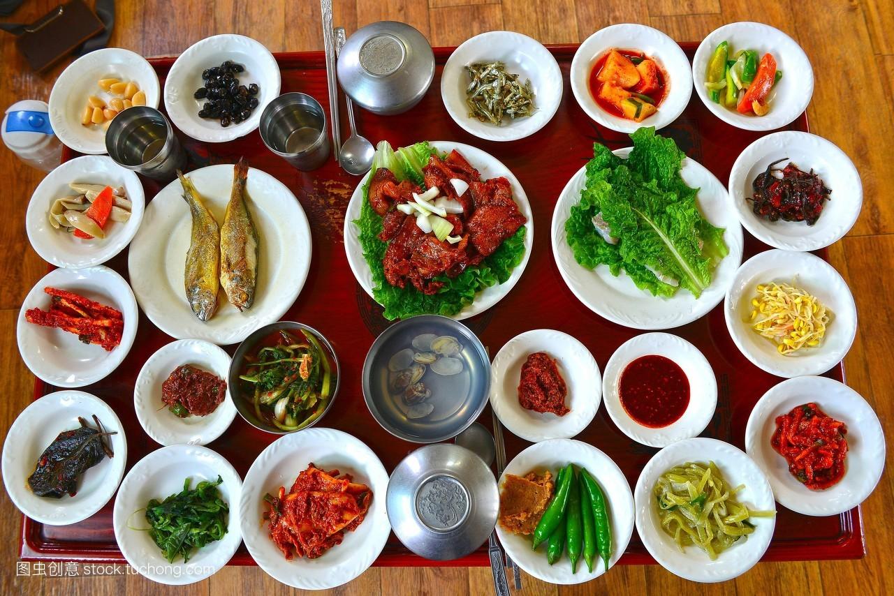 食品�zl�9��9�+_亚洲食品,筷子,餐具,食品,韩国,韩国文化,大多数,生菜,无人,饭碗