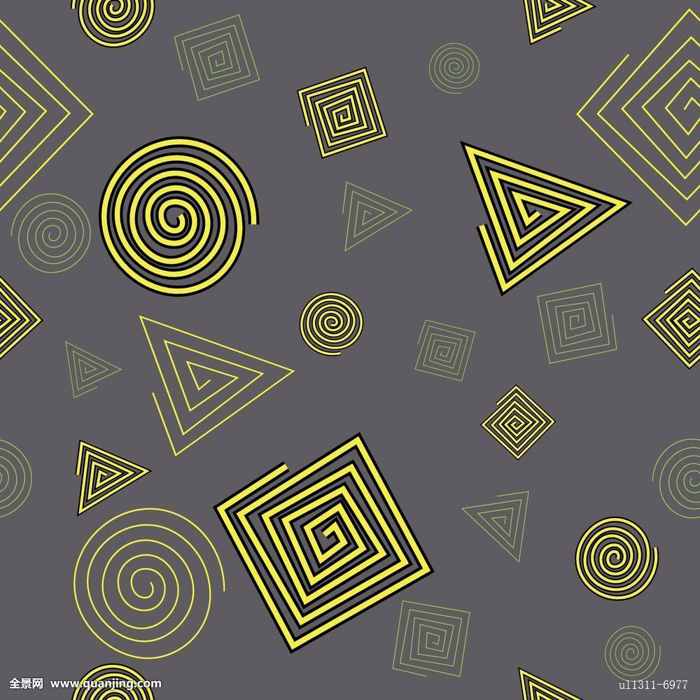 圆,三角形,线条,轮廓,背景,无缝,图案,抽象,几何图形,设计,条纹,壁纸图片