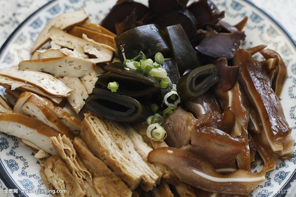 台湾,台北,台北市,食物,食品,菜肴,中国菜,中式菜肴,凉拌,豆腐,卤菜图片