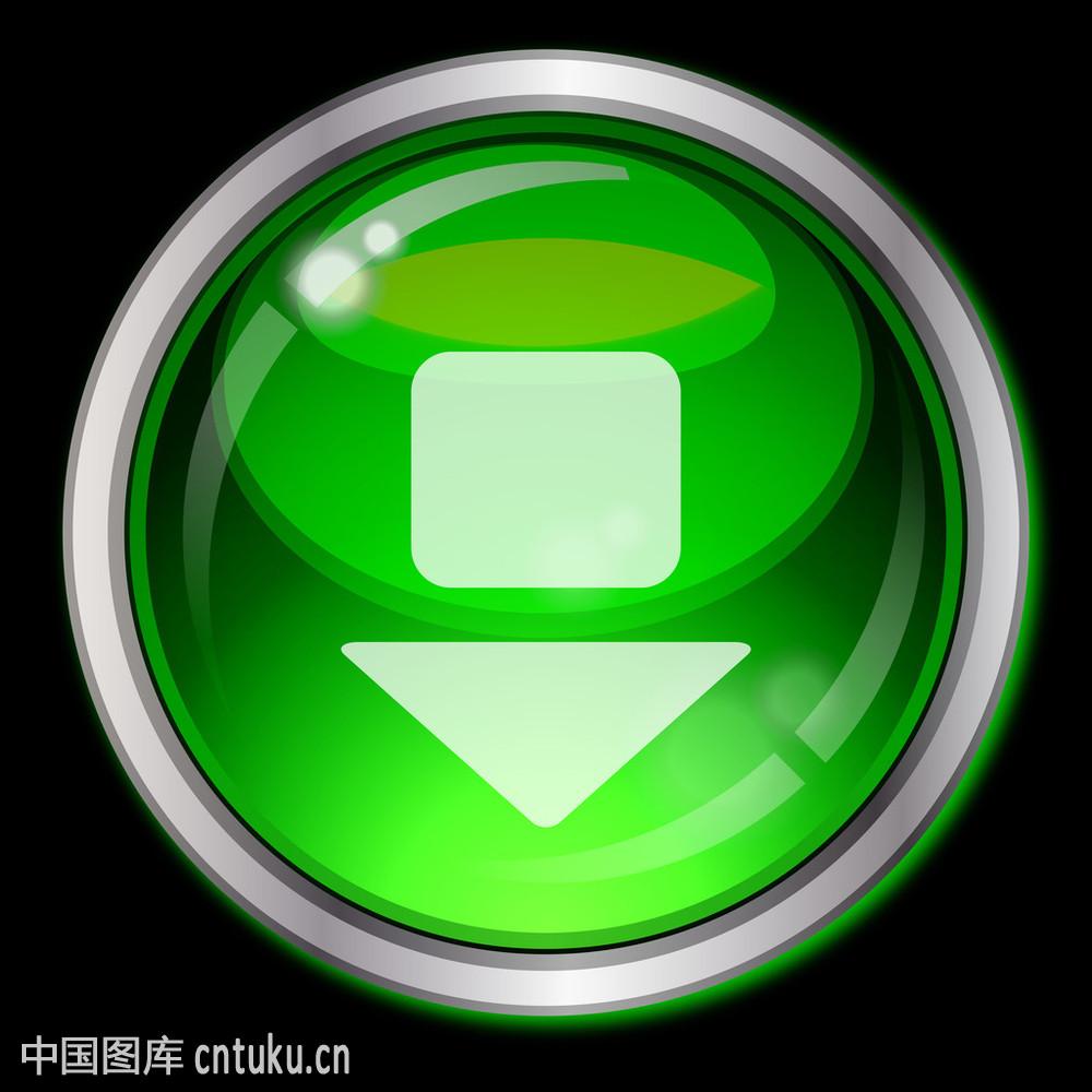eps10带箭头的按钮图片