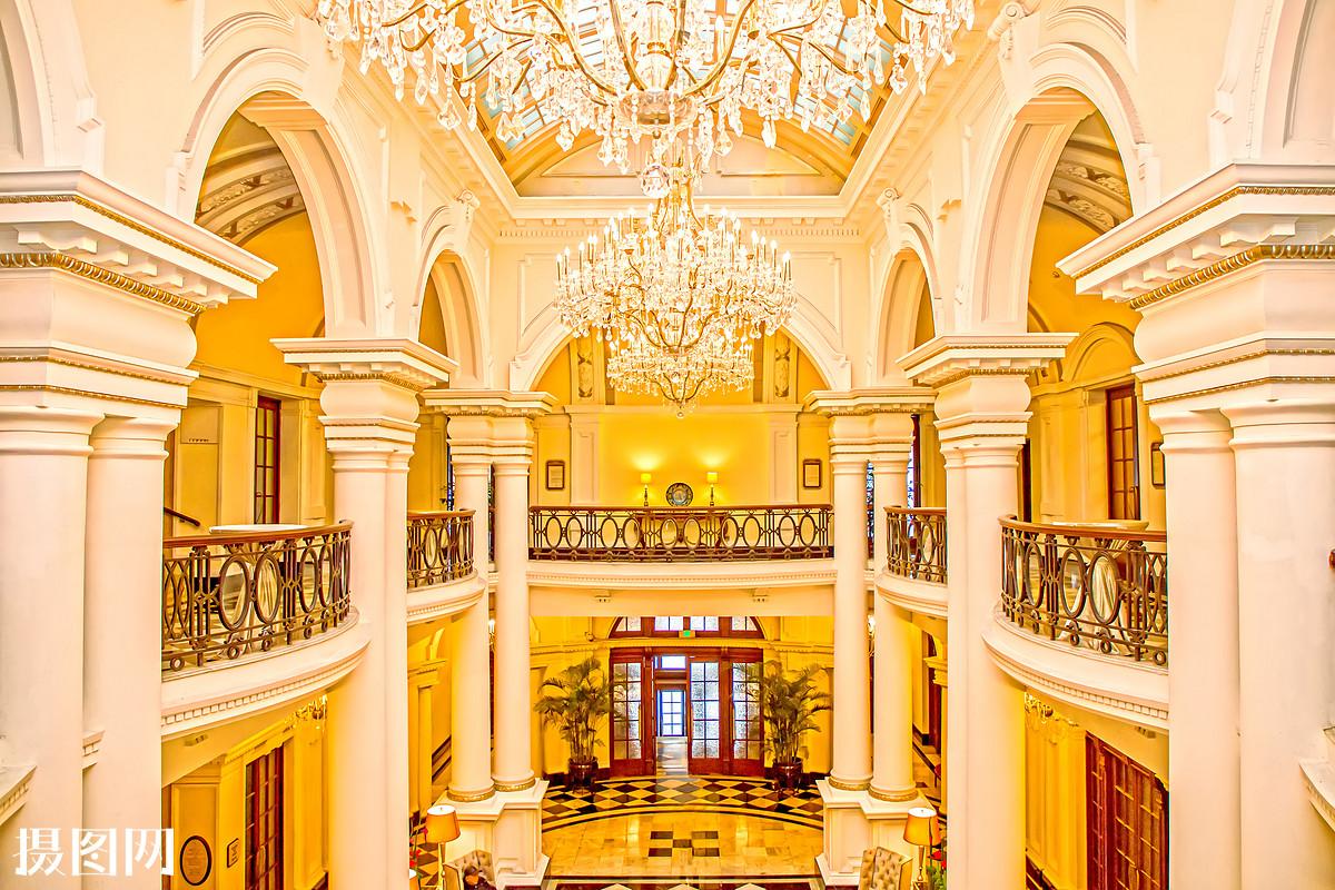 欧式装仹f�{��K����_欧式酒店建筑室内空间