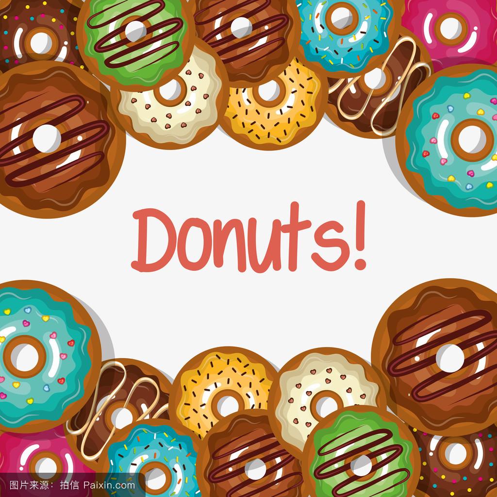 甜甜圈的设计图片