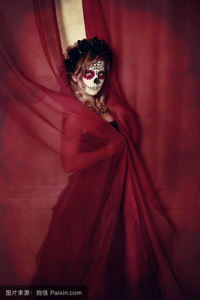 美女蝎子纹身唯美图分享展示图片