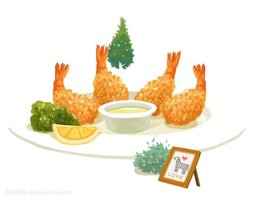 食品�zl�9��9�+_烹调,图标,食品,物体,风格,油炸食物,插画,漫画插图