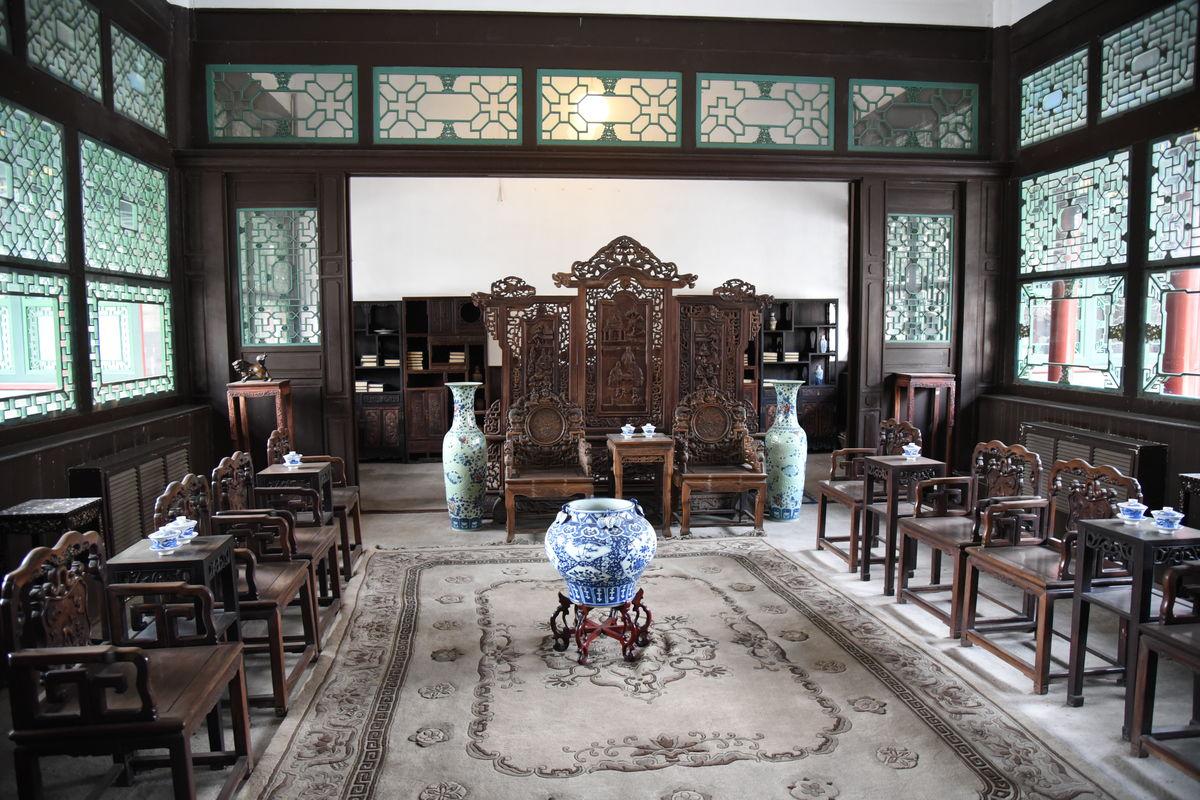 中式实木风格家居图片