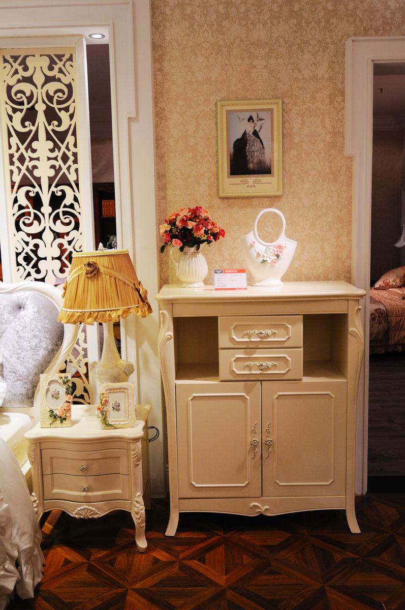 欧式卧室家具 床头柜 矮柜图片