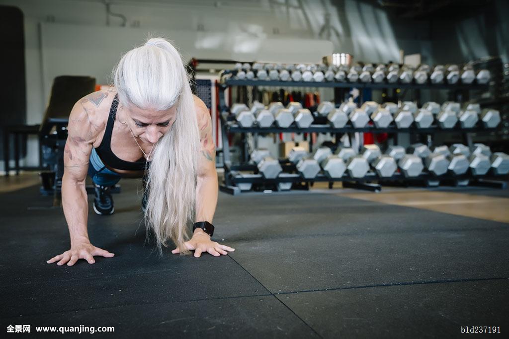 55-59岁,活力老人,老龄,志向,手臂,运动员,运动,真诚,正宗,白人,挑战图片
