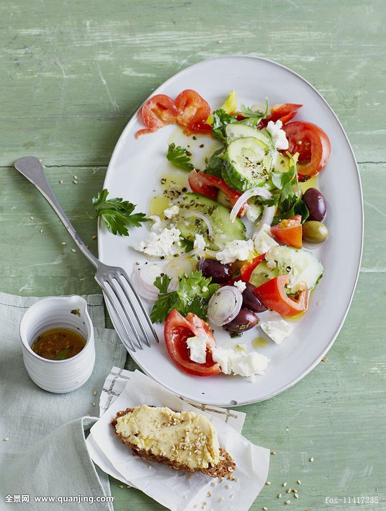 序列,羊奶干酪,羊奶酪,南瓜,棚拍,西红柿,蕃茄菜,番茄沙拉,蔬菜,素菜图片