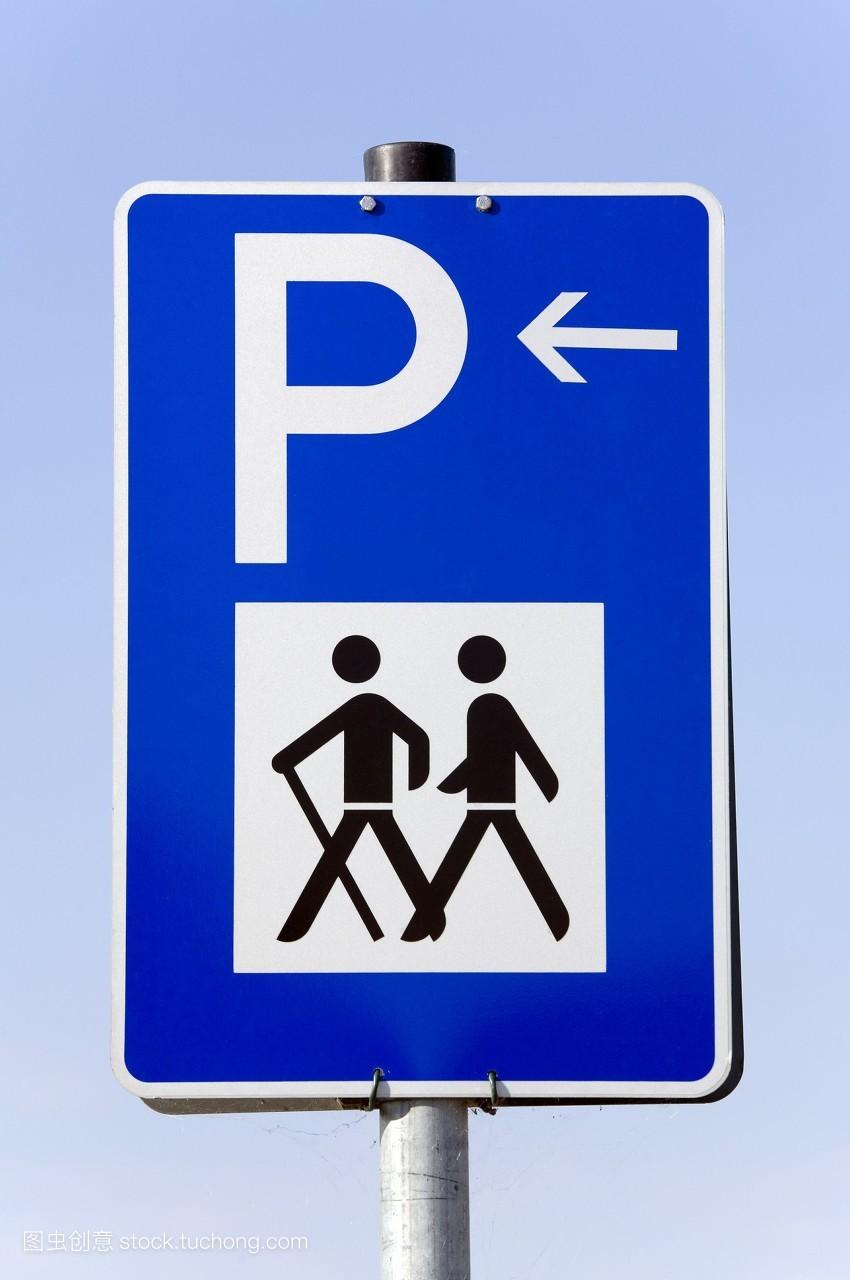 柱,步行,旅行者,旅行,交通,户外,路标,签字,北欧人,样式,招牌,邮政,高图片