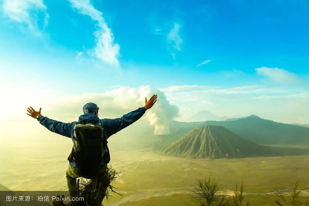 indonesia山.