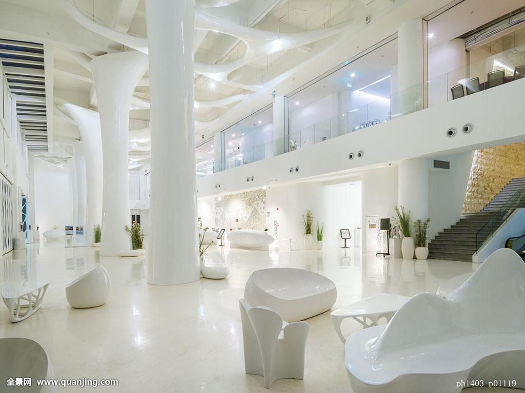 墙面,天花板,柱子,展场,卖场,商场,展览,展示,展厅,展示空间,平坦的图片
