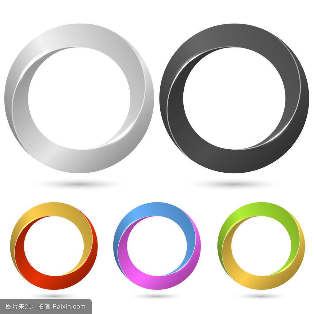 环�9c.��fz���d_带颜色变量环环符号矢量模板.